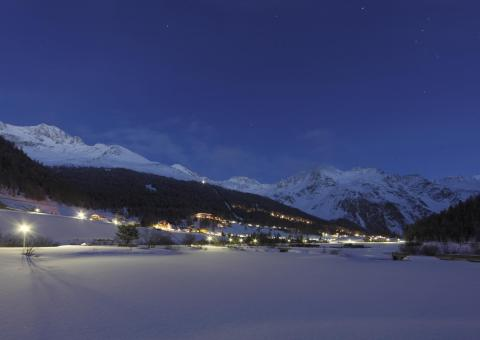 Skiahren by night
