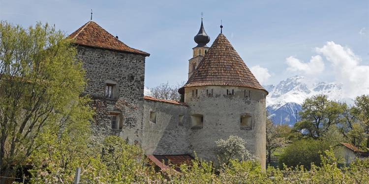 Glorenza - the little medieval town in South Tyrol