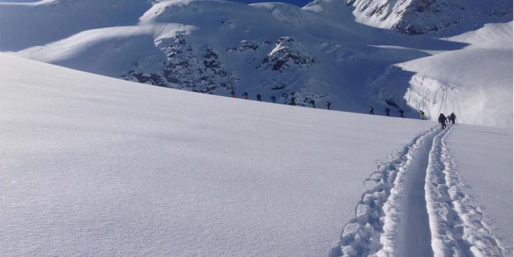 Ski Tour to the Suldenspitze Peak