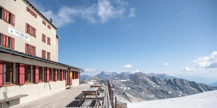 Ortler High Mountain Trail Stage 5: From the Pizzini hut to Sant'Antonio