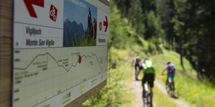 Uphill Marzoner Alm- Bike Highline Meran- Lupo Trail