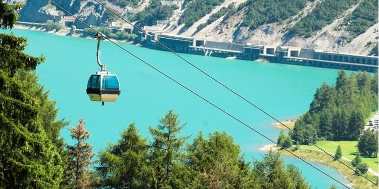 Cable car Malga San Valentino